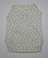青バラのつぼみのクリームTシャツ